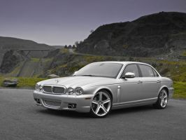 Jaguar XJR by Hella-Sick