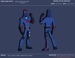 AP Hooded Cobra Commander by KrisSmithDW