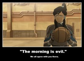 LoK: The Morning is Evil by sasuke12234