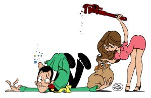Lupin The 3rd And Fujiko Mine By Fourpanelhero by Kenkira