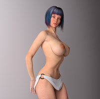 RS-232 - Pose #3 by 3DMilieu