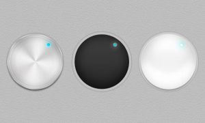 Retina Display Ready Volume Dials by wasimshahzad