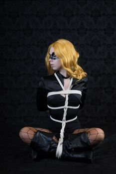 Black Canary Shibari Shoot 2 by AxilliaCosplay