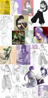 MAGI: Sketchdump by villainesayre