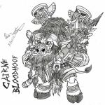 chibi cairne bloodhoof by Caio-Victor