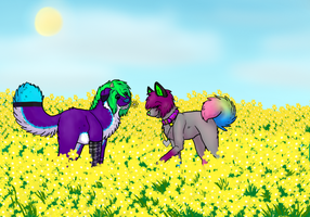 Look I Found a Flower by CactusFruits