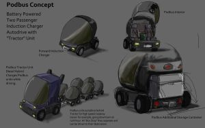 Podbus Concept by wbd