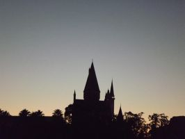 Hogwarts Silhouette by GriffinPhillis