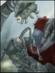 Solidus Snake vs Sir Daniel by Rtv03