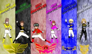 DigiFusion SM Megaforce by rangeranime