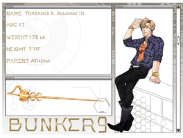 Torrance_Son of Athena by Jeri-Cho