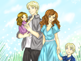 DxH: Malfoy Family by HazelDragon66