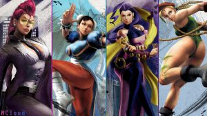 StreetFighter Ladies by NaughtyBoy83