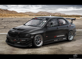 Lancer Evo IX by Cop-creations