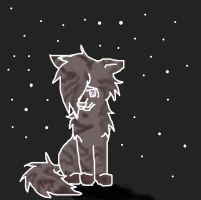 Lost Spirit Wolf by AwesomeEchosong