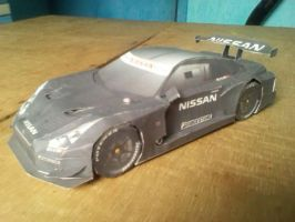 Papercraft Super GT Nissan R35 GT-R by MarcGo26