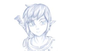Skyward Sword Link by WeraTheNightmaren