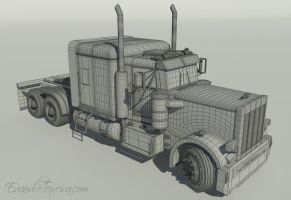 PeterBilt 359 Tractor by MrBrownstoneMB