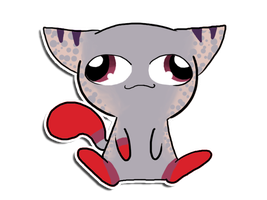 Cory Sticker Commission by Pink-Doodlr