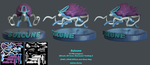 Suicune 3D Model by PixelPandaa