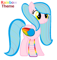 Rainbow theme adoptable by FioPonez