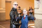 Wesker and Jill Resident Evil 5 Cosplay by BlueEyesMaster