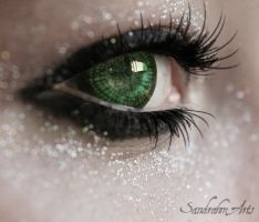 Elisa's eye by Sandrahm