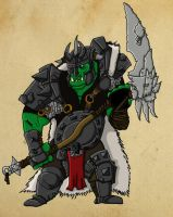 Orc Warboss - Redone by Andermatron