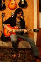 Jamming on the Ace Epiphone by Syagria
