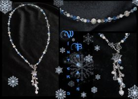 Winter's Breath necklace by redLillith