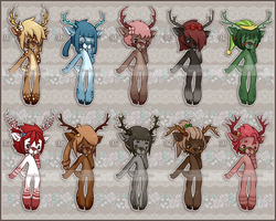 Adopts (Reindeers) (Open) by SenaIzumi