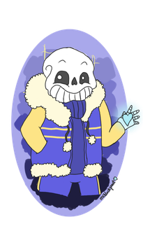 OuterTale(Sans) by MCblackfrost