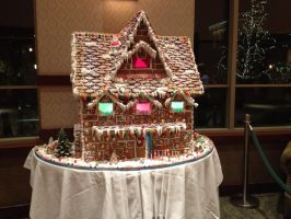 Disney Gingerbread House by firegirl1995