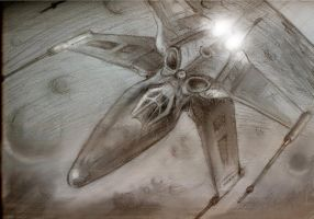 Stealth X-wing by Son0fDad