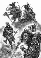 Glorantha: Broos by Merlkir