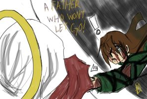 A Father who won't let go by ShanubisChronos