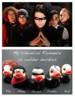 MCR as duckies by maskedzone