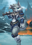 Frost Wolf by atryl