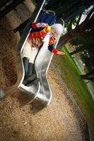 Tea Party: Sliding Fun by FireDeathTeamCosplay