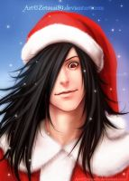 Santa MADARA) _ Happy new year!)) by Zetsuai89