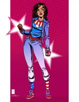 More Miss America Chavez by e-carpenter