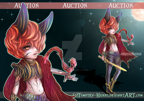 (CLOSED) - Lil' Dark Knight Adoptable #026 by Timothy-Henri