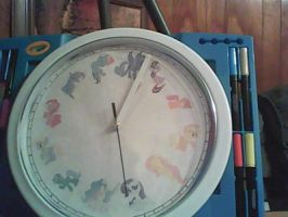 MLP CLOCK by brony4all