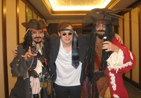Dr. Who and the Pirates by colley