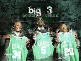 Boston Celtics by PHIGFX