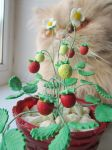 Strawberry in pot-2 by mar-rie