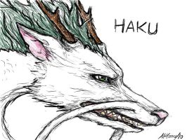Haku Dragon by SketChelle