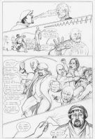 Archer and Armstrong #1 page17 - competition! by Nick-Perks