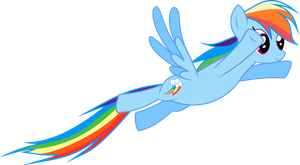 Rainbow Dash - Into The Sky by TechX12