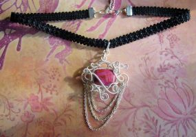 Baroque Candy Choker by Carmabal
